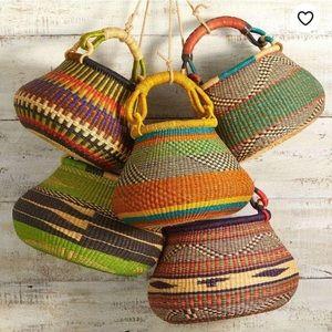 Alaffia Basket market colorful basket